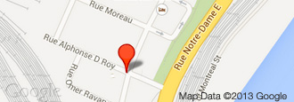 Google Map of Anchor Danly Montreal Plant